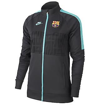 2019-2020 Barcelona Nike I96 Jacket (Cool Grey) - Womens