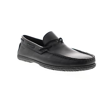 Sebago Schoodic  Mens Black Wide Loafers & Slip Ons Moccasin Shoes