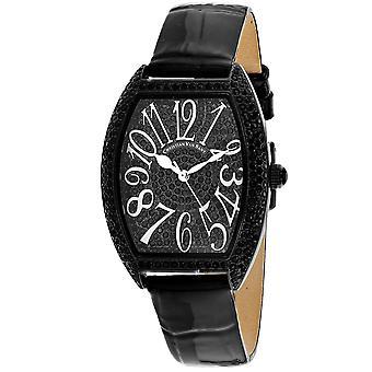 Christian Van Sant Women's Elegant Black Dial Watch - CV4823