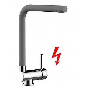 Niederdruck - For German Market Only! Single-lever Kitchen Sink Mixer With Folding Spout Only 6 Cm - 467