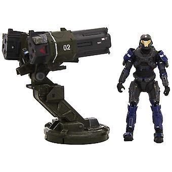 Halo Reach Warthog Akcesoria Gauss Cannon Rocket Launcher z Spartan JFO Toy