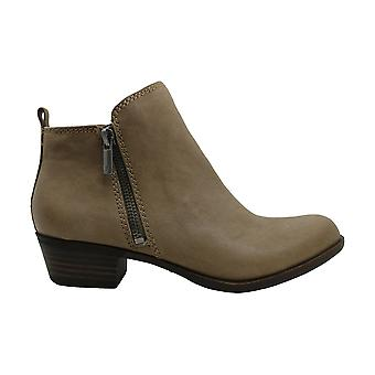 Lucky Brand Womens Basel Leather Almond Toe Ankle Fashion Boots