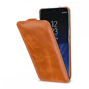 Case For Samsung Galaxy S8 Plus Ultraslim Cognac In True Leather