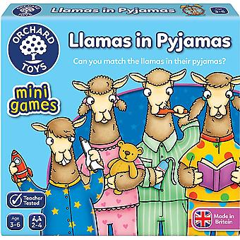 Orchard Toys Mini Juego Llamas en pijama