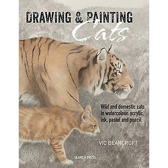 Drawing  Painting Cats by Vic Bearcroft
