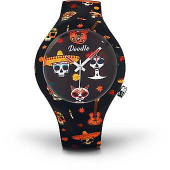 Watch Doodle CALAVERAS MOOD DOSK005 - watch ORANGE 39mm male/female