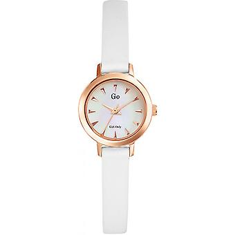 Go Girl Only 698641 - watch leather white woman