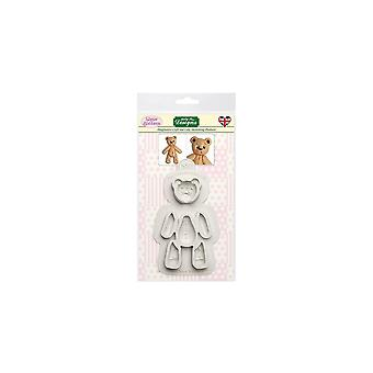 Katy Sue Designs Katy Sue Sugar Buttons Mould - Stitched Ted