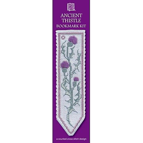 Textile Heritage Counted Cross Stitch Bookmark - Ancient Thistle