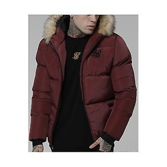 Sik Silk Distance Burgundy Jacket