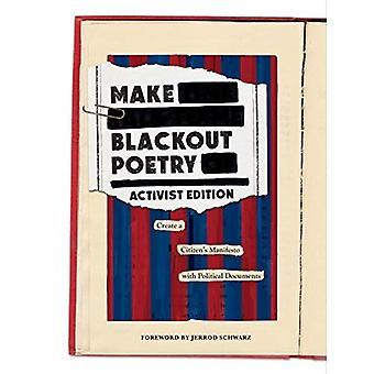 Poésie de faire de Blackout: Édition militante