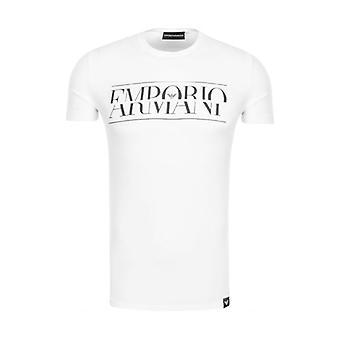Emporio Armani Logo T-Shirt Blanc 3Z1T86 1J0AZ