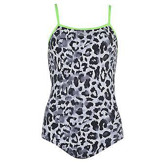 Slazenger Womens Thin Strap Swimsuit Ladies