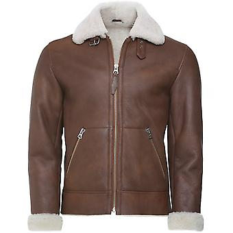 Schott Sheepskin Leather LCB 100 Jacket