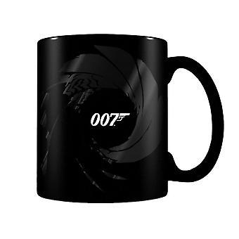 James Bond Gunbarrel Heat Changing Mug