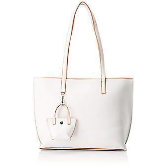 Tom Tailor Denim Elly Women White Tote Bags (Wei) 12x26x39 cm (B x H x T)