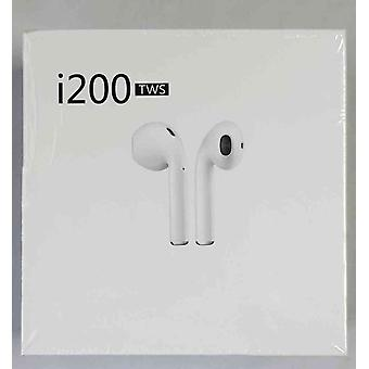 I200 TWS Headphone Headset with Smart Sensor, Tab Control, Android and iOS