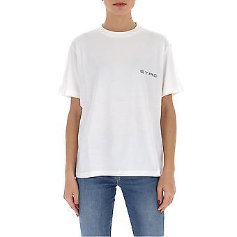 Etro 1372195900990 Women's White Cotton T-shirt