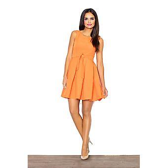 Orange figl dresses