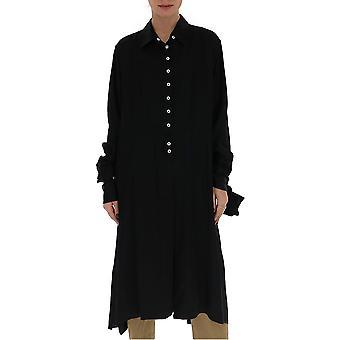 Ann Demeulemeester 2014126099 Donna's Camicia di cotone nero