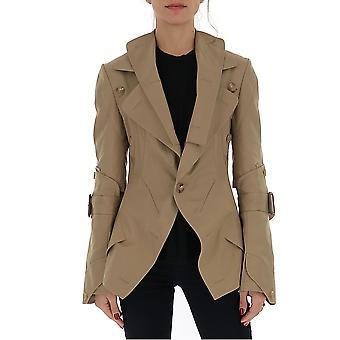 Junya Watanabe Jej0190511 Femmes-apos;s Manteau de coton beige