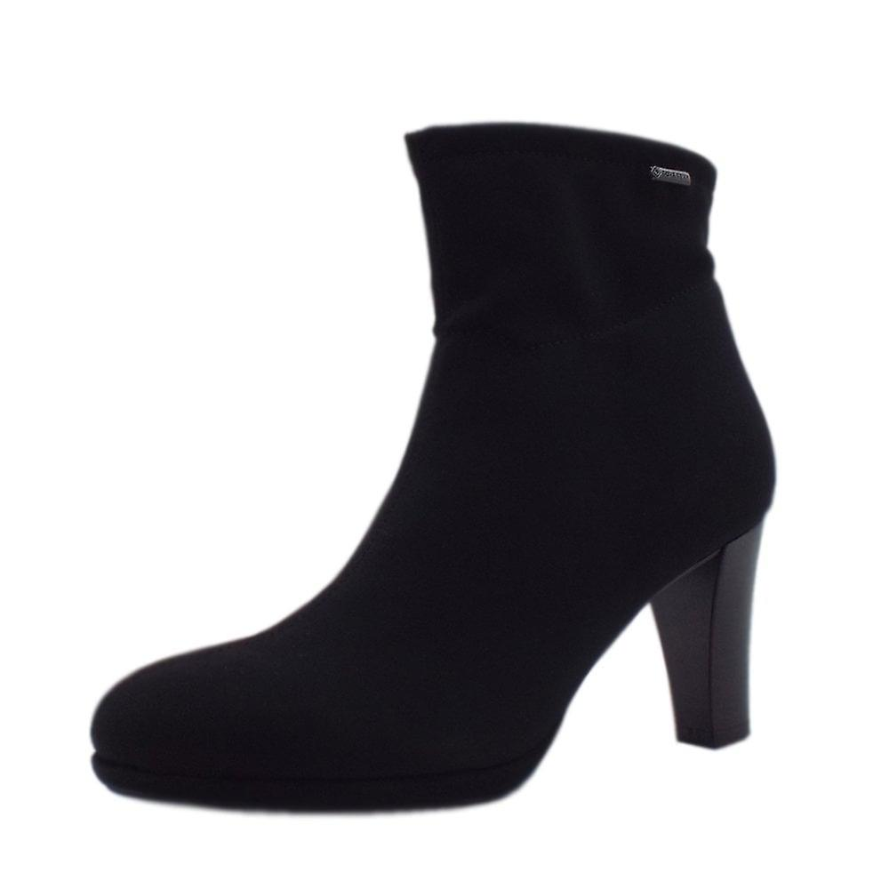 Peter Kaiser Cadis Stylish Gore-tex Ankle Boot In Black Stretch MPaTi