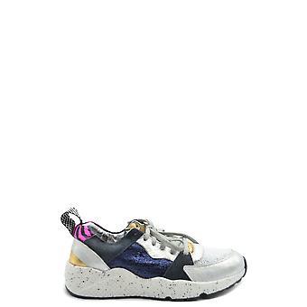 P448 Ezbc283010 Women's Multicolor Fabric Sneakers