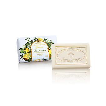 Saponificio Artigianale Fiorentino Handmade Soap - Lime & Amp; Rosemary - lovingly wrapped in wrapping paper 250 g