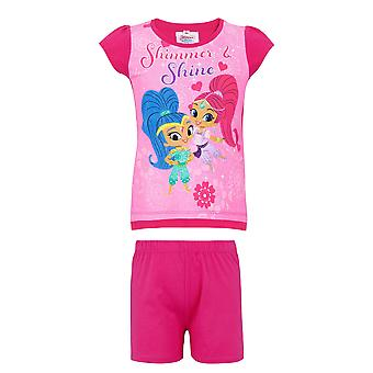 Shimmer and shine girls pyjama