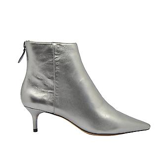 Alexandre Birman Kittiebootgrafite Women's Grey Leather Ankle Boots