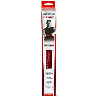 Thera-band flexbar resistance bar, beginner, red, 1 ea