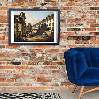 Canaletto - Vienna Dominican Church Poster Print Giclee