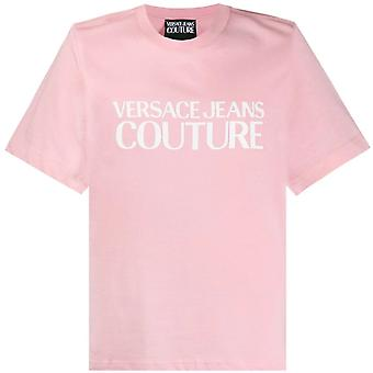 Versace Jeans Couture Classic Logo T-Shirt Pink
