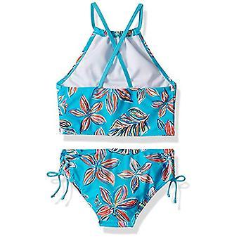 Kanu Surf Big Girls' Daisy Beach Sport Halter Tankini 2-Piece Swimsuit, Charl...