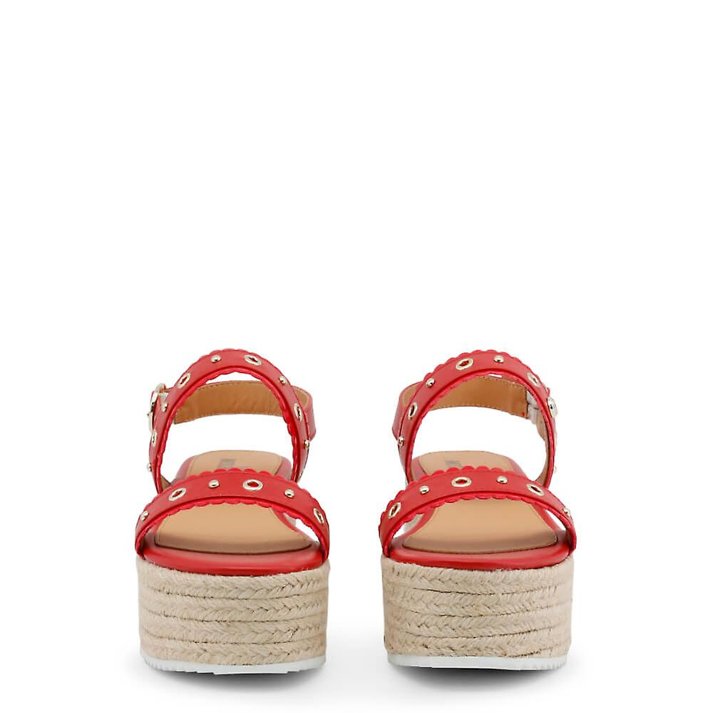Love Moschino Original Women Spring/summer Wedge - Red Color 31722