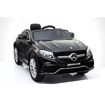 Lasten sähkö auto Mercedes GLE63 AMG EVA Tire nahka istuin, valot, iskun vaimentimet