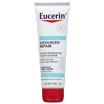 Eucerin advanced repair foot creme, fragrance free, 3 oz