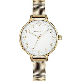OBAKU - Wristwatch - UNISEX - V237LXGIMG - SYREN-GOLD