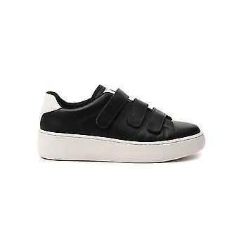 Maison Margiela S57ws0289p2589h7344 Men's Black Leather Sneakers