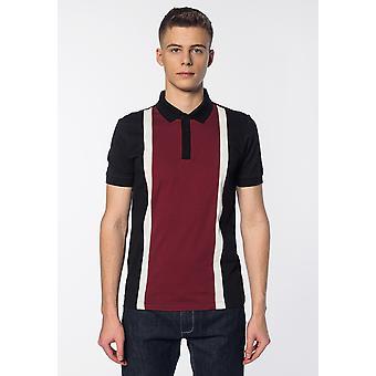 Merc ATLAS, Colour Block Stripes Men's Polo Shirt