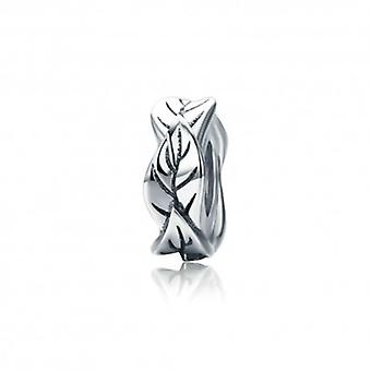 Sterling Silver Charm Leaves - 5538