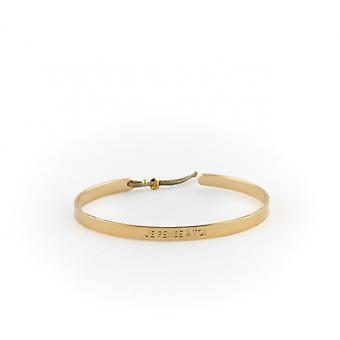 4 mm Ley Nat 'I think you'n' dor bracelet
