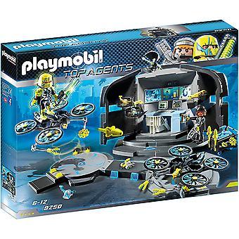 Playmobil 9250 Top Agents Dr Drone & apos; s Kommandobas