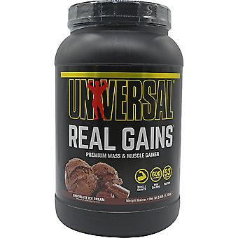 Universal Nutrition Real Gains - 11 Servings - Chocolate Ice Cream