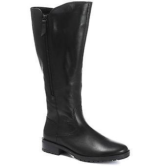 Gabor Womens Texas Long Leather Rider Boot