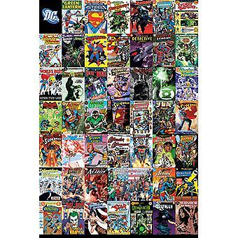 כיסוי הקומיקס DC מונטאז פוסטר מקסי