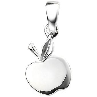Beginnings Apple Pendant - Silver