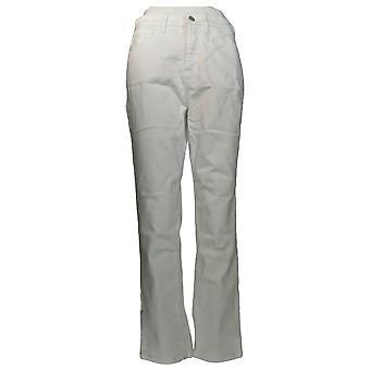 Denim & Co. Women's Classic Denim Ankle Jeans White A304475