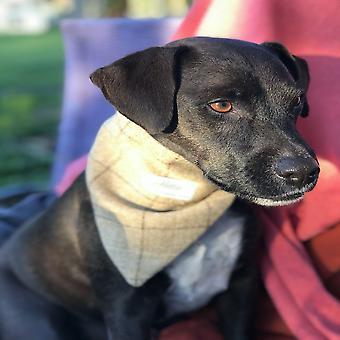 Charlie Dog Bandana - Schiefer Haferflocken