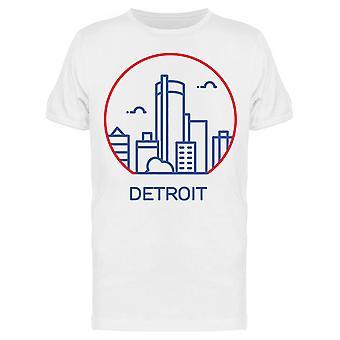 ديترويت سيتي أيقونة تي الرجال & apos;s -الصورة من قبل Shutterstock